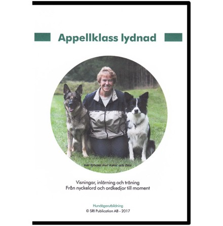 DVD Appellklass lydnad 2017